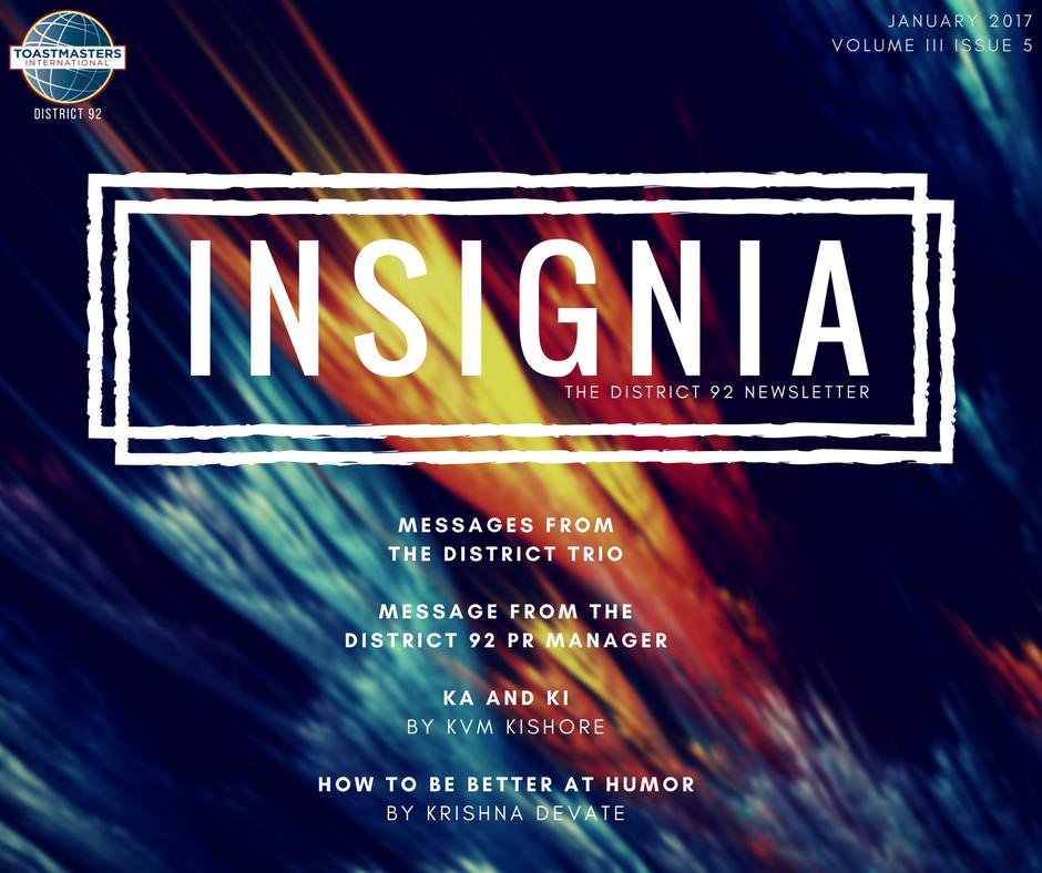 Insignia 2017 Newsletter