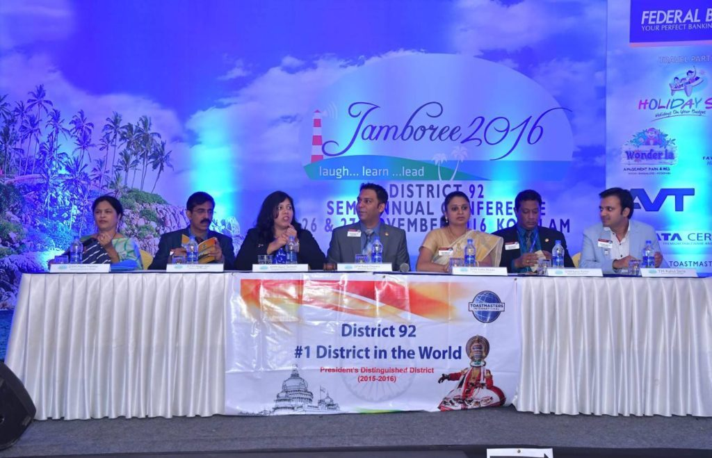 About Toastmasters District 92